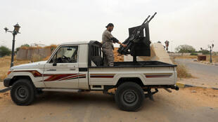 Les stigmates des combats entre milices rivales à Tripoli (Archives)