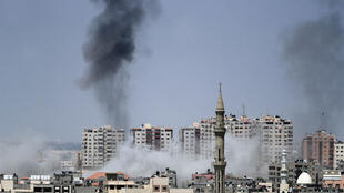 L'armée israélienne a touché sept installations à Gaza appartenant au Hamas ou au groupe Jihad islamique, le 29 mai.