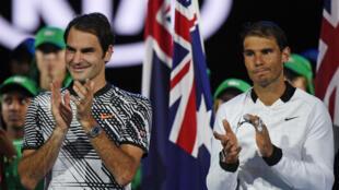 Roger Federer a remporté son 18e titre du Grand Chelem à l'Open d'Australie en battant l'Espagnol Rafael Nadal, dimanche 29 janvier, à Melbourne.