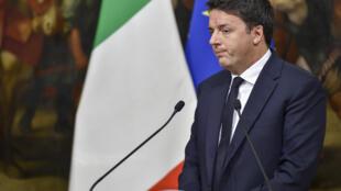 Matteo Renzi a lié son avenir politique à l'issue du référendum constitutionnel du dimanche 4 décembre.