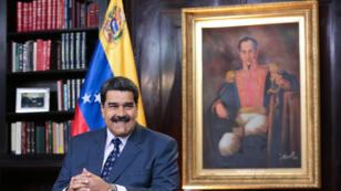 الرئيس الفنزويلي نيكولاس مادورو في كاركاس، في 5 يناير 2019.