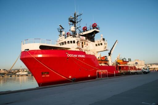 Ocean Viking to return to sea 'as quickly as possible': operator