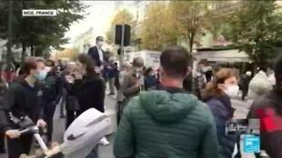 2020-10-29 14:01 France on urgent alert following Nice 'terror' attack