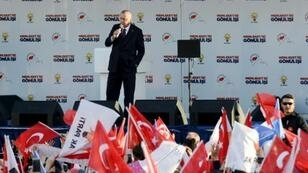 President Recep Tayyip Erdogan, campaigning for local elections this month, has presented the New Zealand attack as part of an assault on Turkey and Islam more broadly