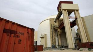 مصنع بوشهر الإيراني النووي