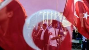 """تحتل تركيا المرتبة 155 من أصل 180 على قائمة """"مراسلون بلا حدود"""" لحرية الصحافة."""