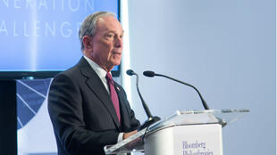 Michael Bloomberg attends a conference at Bloomberg Philanthropies on April 28, 2015 in New York City.