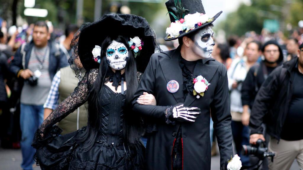 Las Catrinas Se Tomaron Las Calles De Ciudad De México