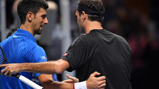 Rivals: Roger Federer and Novak Djokovic