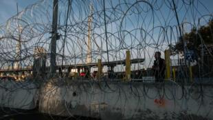 La frontière entre le Mexique et les Etats-Unis depuis la ville mexicaine de Tijuana.
