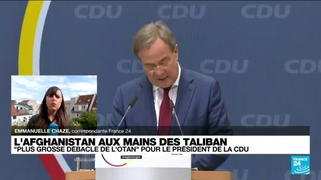 """2021-08-16 16:36 Taliban en Afghanistan : un """"désastre politique et humanitaire"""" pour le président de la CDU"""