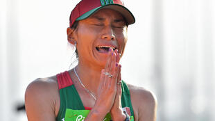 Mexico's Maria Gonzalez, pictured after winning the silver medal in the Women's 20km Race Walk at the Rio 2016 Olympic Games, appealed her ban at the Court of Arbitration for Sport, claiming her positive drugs test was due to contaminated meat