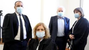La juge Lia Ben Ari, chargée du procès de Benjamin Netanyahou, lors de l'audience prévue dimanche 19 juillet 2020.