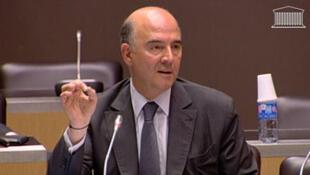 Pierre Moscovici, ministre de l'Économie