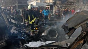 Un attentat au camion-citerne s'est produit mardi 28 avril 2020 à Afrin, en Syrie.