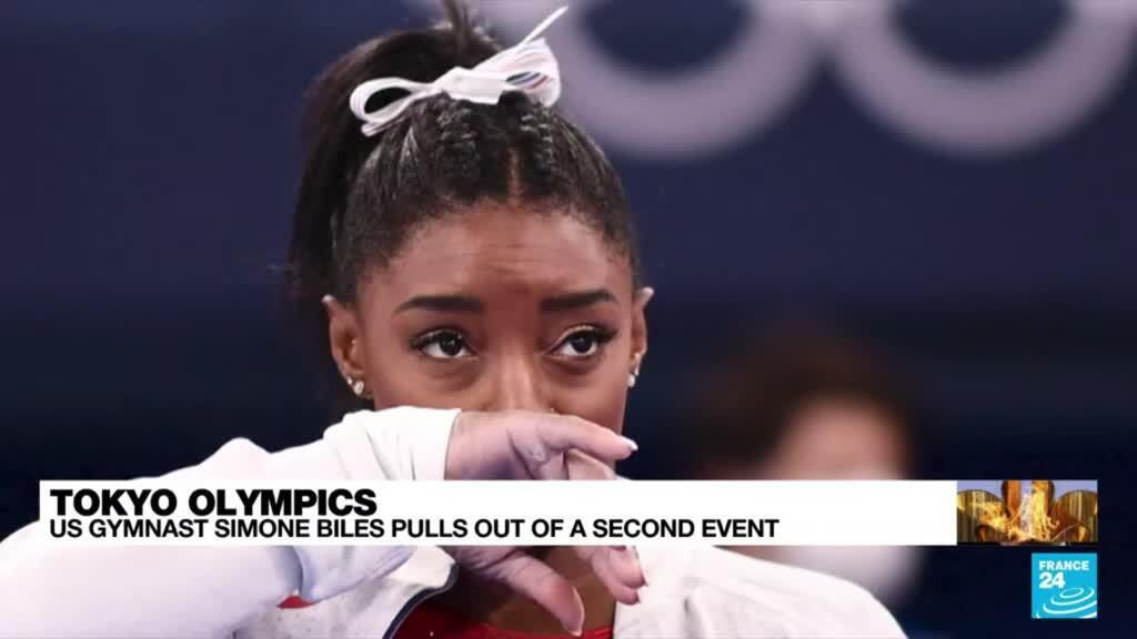 2021-07-28 12:12 Gymnast Biles's Olympics in doubt after second pull-out over mental health