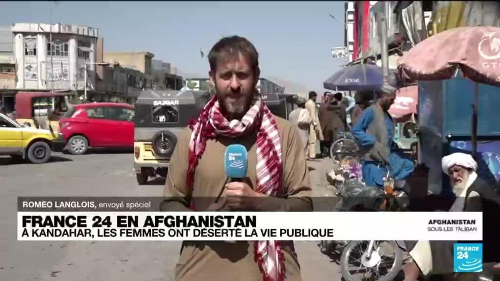 2021-10-06 13:35 A Kandahar, les femmes ont déserté la vie publique