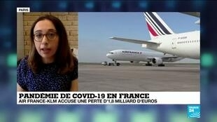 2020-05-07 10:03 Covid-19 : Air France-KLM accuse une perte d'1,8 milliard d'euros