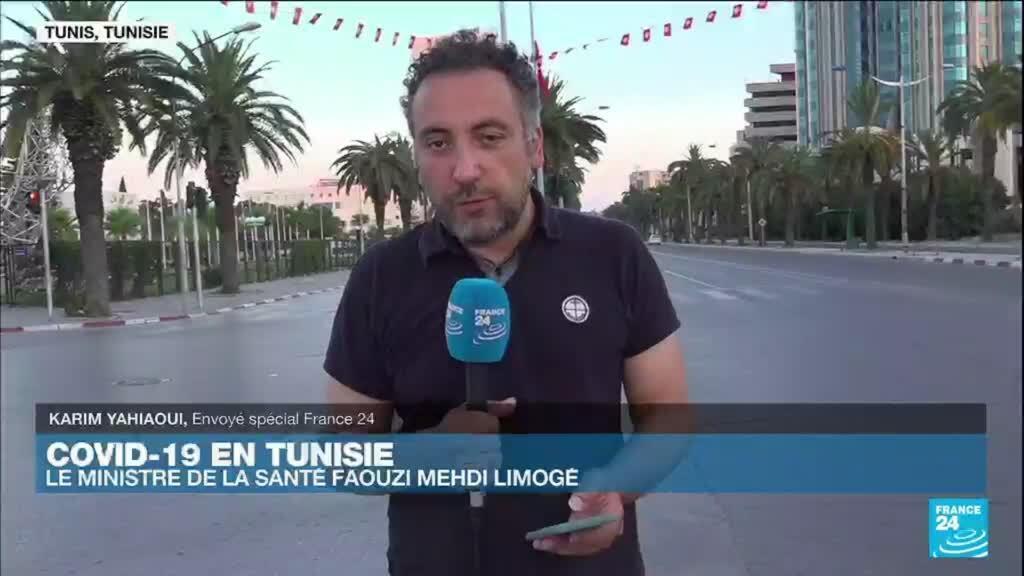 2021-07-21 00:05 Covid-19 en Tunisie : le ministre de la Santé Faouzi Mahdi limogé