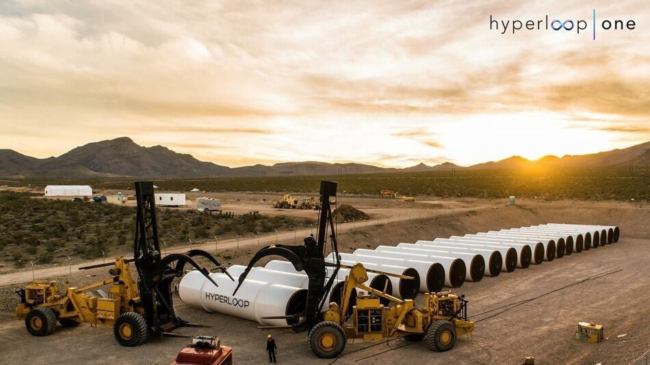 La start-up Hyperloop One effectuera son premier test public ce mercredi 11 mai 2016.