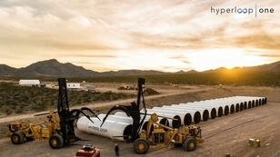 La start-up Hyperloop One effectuera son premier test public ce mercredi 11 mai 2016.
