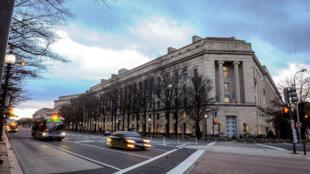 مبنى وزارة العدل الأمريكية في واشنطن.