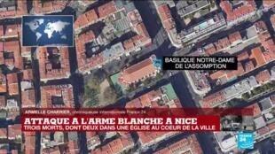 """2020-10-29 11:41 Attaque au couteau à Nice : """"Les chrétiens ne doivent pas devenir un symbole à abattre"""""""