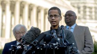 Ahmed Mohamed au lendemain de sa visite à la Maison blanche.