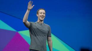Marck Zuckerberg, lors de la conférence F8 2017, qui se tient les 18 et 19 avril.