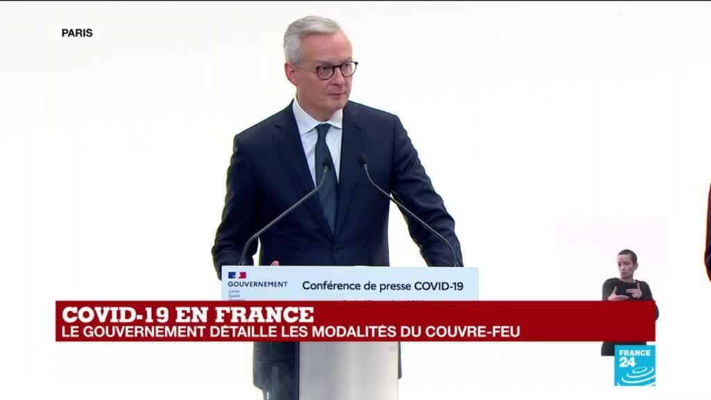2020-10-15 14:24 REPLAY - Covid-19 : le ministre de l'Economie annonce une série de mesures pour les entreprises