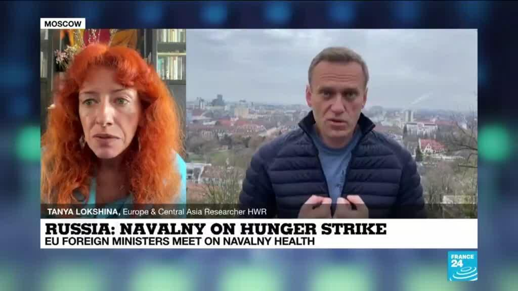 2021-04-19 12:05 Russian prison service decides to transfer hunger-striking Navalny to hospital
