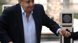 كاتب السيناريو المصري وحيد حامد في مهرجان دبي السينمائي الدولي في 8 كانون الأول/ديسمبر 2017