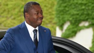 Le président du Togo, Faure Gnassingbé, lors d'un déplacement à Berlin, le 9 juin 2016.