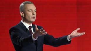 Le candidat François de Rugy, dimanche 15 janvier 2017, lors du deuxième débat de la primaire de la gauche.