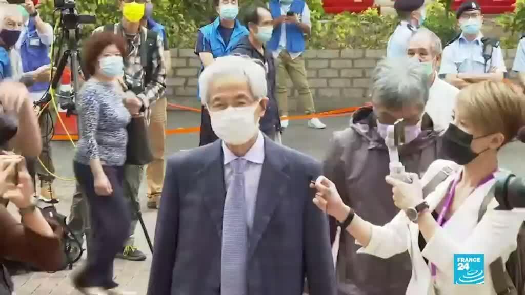 2021-04-16 19:08 Hong Kong: nueve reconocidos activistas prodemocracia fueron condenados