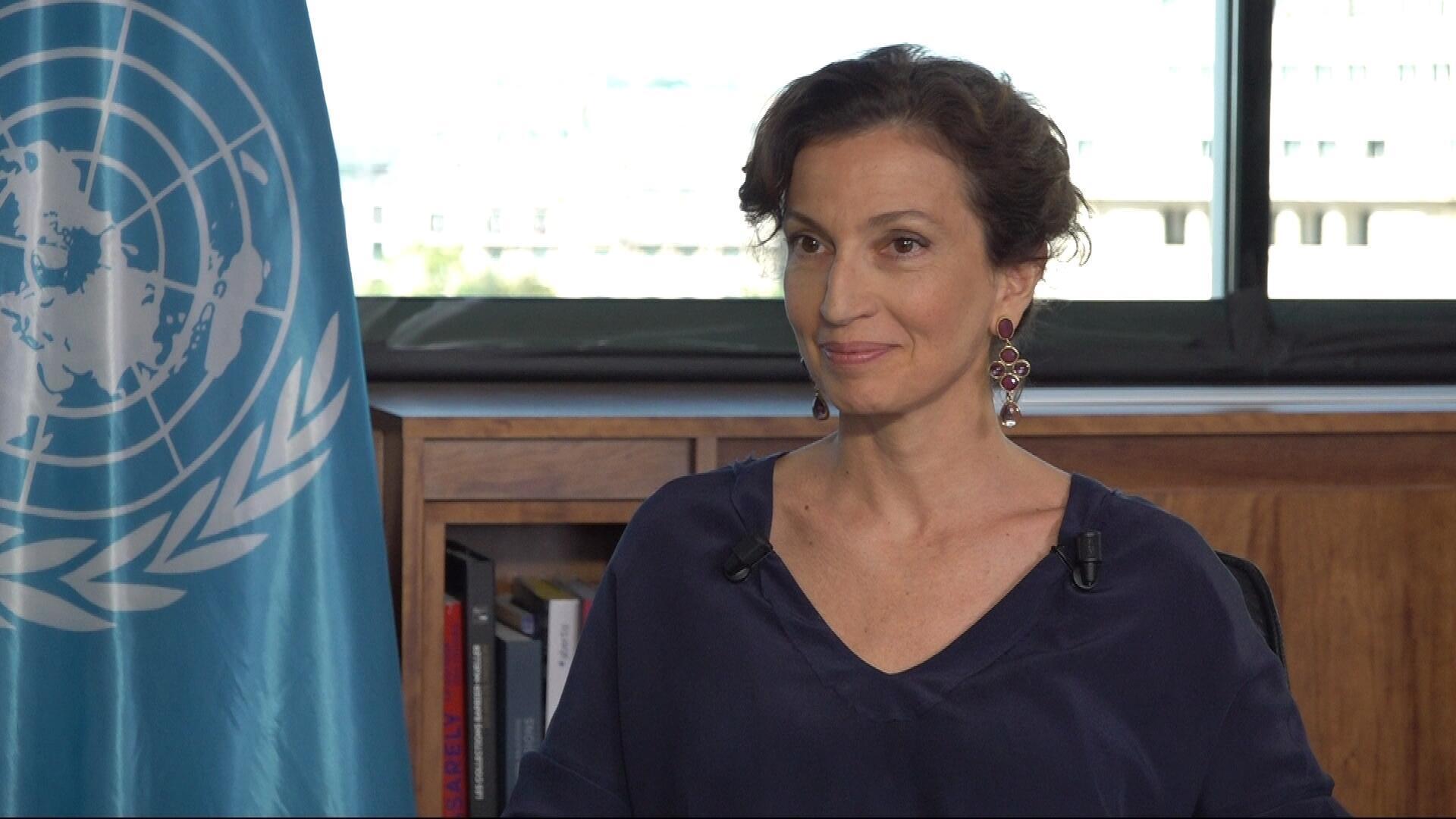 Audrey Azoulay, Directrice générale de l'Unesco