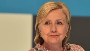 المرشحة الديموقراطية للرئاسة الأمريكية هيلاري كلينتون
