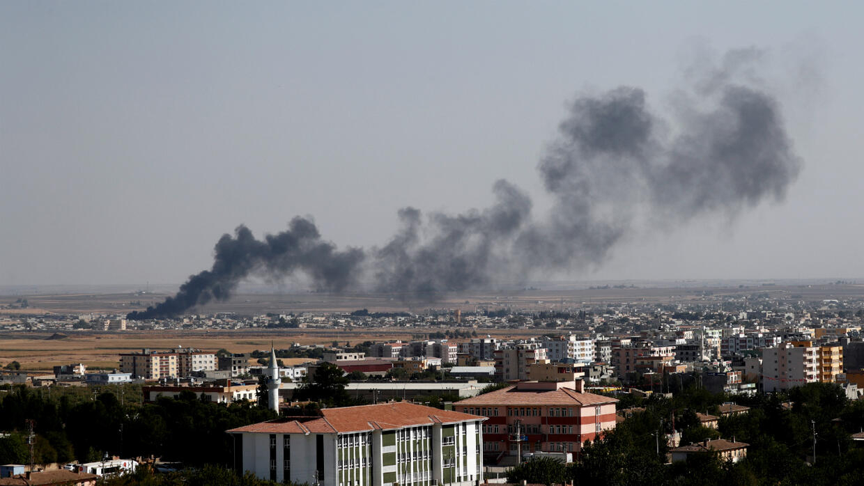 Turkish air raid in Syria kills several civilians, at least one journalist