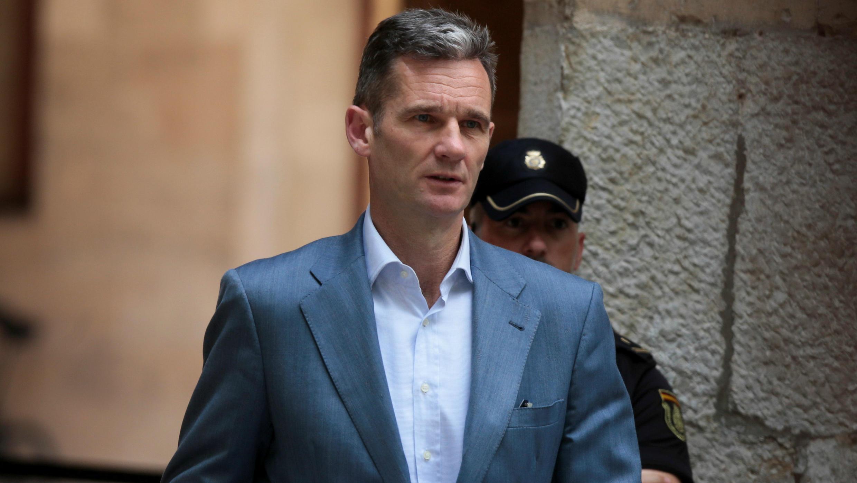 El esposo de la infanta Cristina, Iñaki Urdangarin, se entregó a las autoridades el lunes 18 de junio. Junio 13 de 2018.