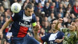 Zlatan Ibrahimovic, auteur d'un doublé samedi