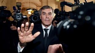 Jérôme Cahuzac à l'ouverture de son procès, le 8 février 2016.