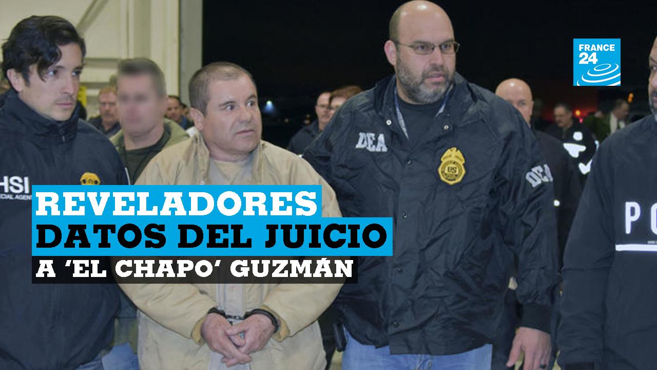 Joaquín, el 'Chapo', Guzmán, tras ser extraditado a Estados Unidos. 19 de febrero de 2019.
