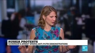 2020-07-13 12:06 Analysis: Russians protest arrest of popular mayor, and Putinism