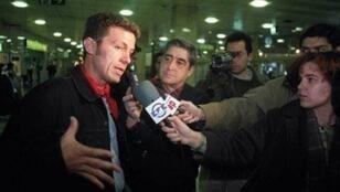 """Javier Espinosa, reporter du journal """"El Mundo""""."""