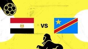 مصر ستضمن حضورها في دور الـ16 في حال فازت على الكونغو الديمقراطية.