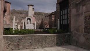 L'une des cinq nouvelles villas désormais accessibles aux visiteurs à Pompéi.