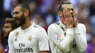 Le Real Madrid, englué en Liga.