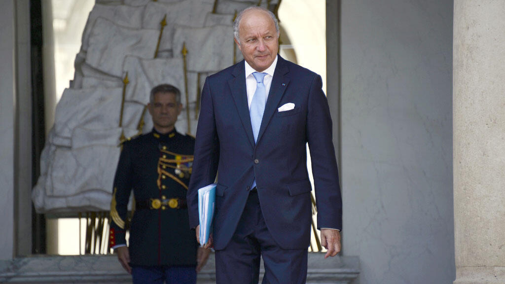 Le chef de la diplomatie française Laurent Fabius, le 20 août 2014.