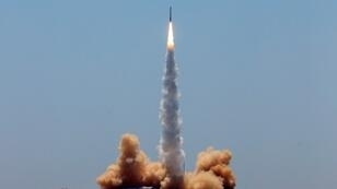 The 20-metre (66-foot) rocket designed by iSpace named Hyperbola-1 reached an altitude of 300 kilometres (186 miles), according to a statement
