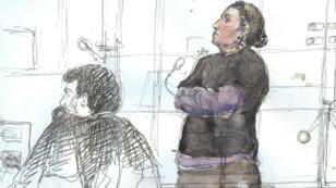 Lors de l'instruction, elle avait déclaré s'être rendue en Syrie pour rester auprès de son fils.